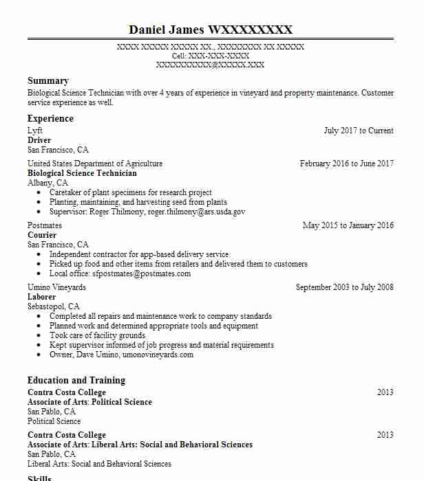 Create My Resume  Forklift Operator Resume Sample