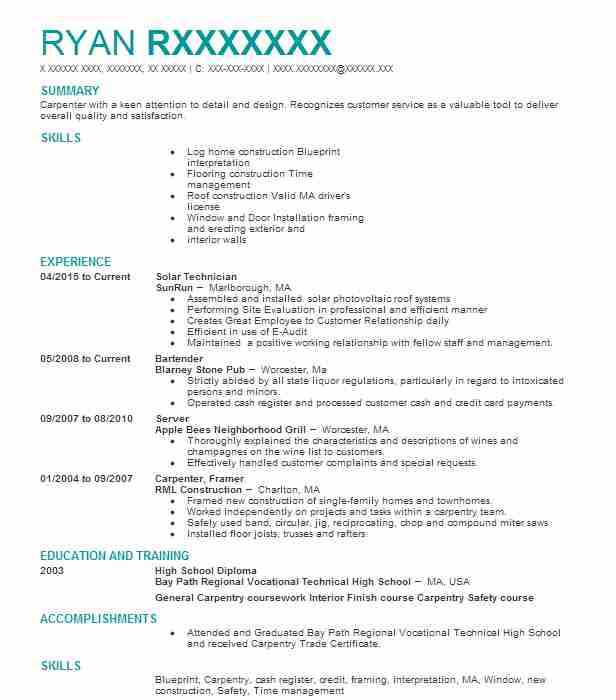 2678 Renewable Energy Resume Examples | Green Jobs Resumes | LiveCareer