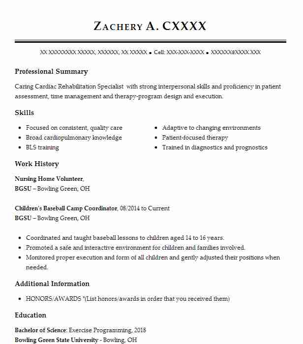 nursing home volunteer resume sample