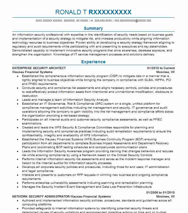 senior cloud security and enterprise systems engineer resume example ntt data corporation
