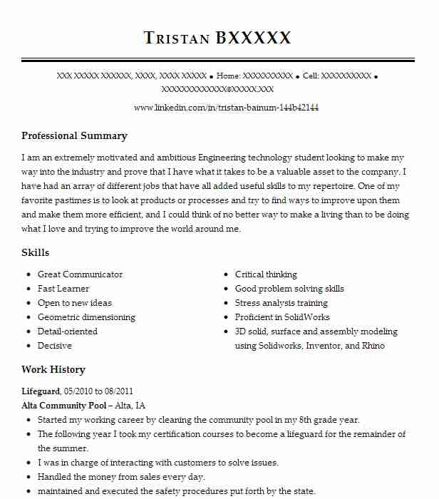 Find Resume Examples in Alta, IA   LiveCareer