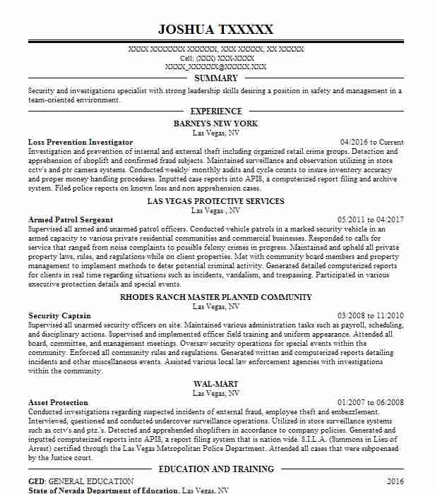 correctional officer resume examples - Mado.sahkotupakka.co