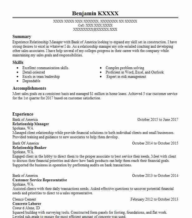 Bank of america branch manager resume top rhetorical analysis essay proofreading site for college