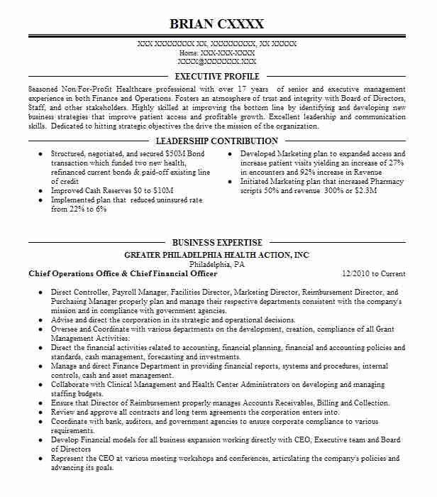 managing director head of government relations resume example