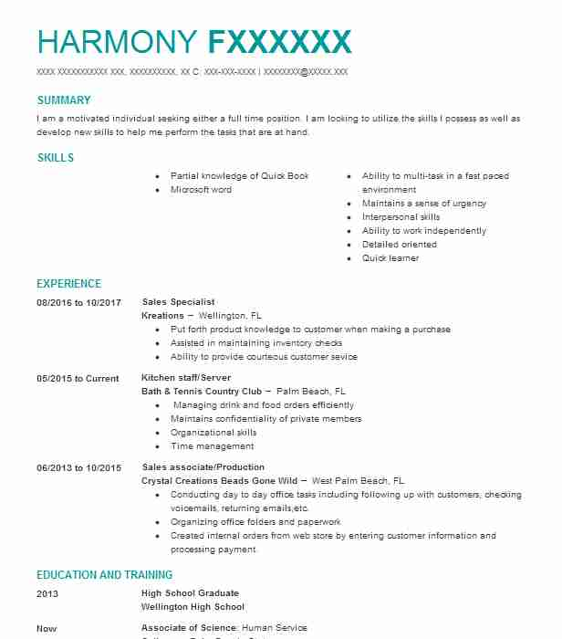 kitchen steward resume sample