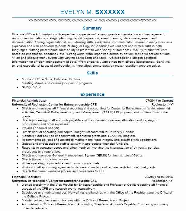 parks  u0026 recreation director resume example city of boiling