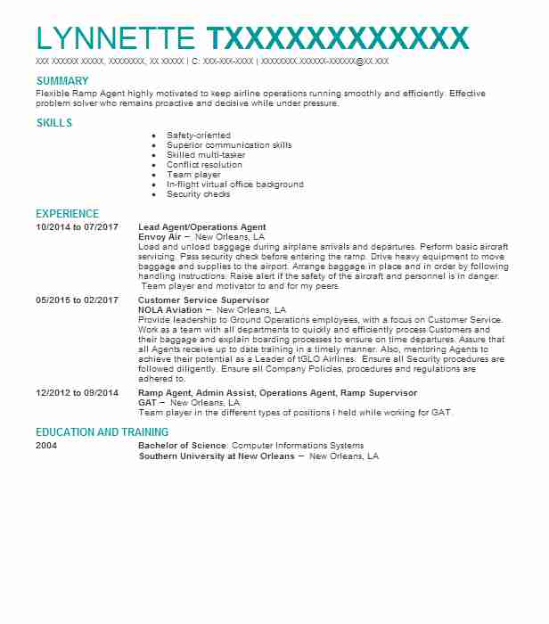3 travel and hospitality resume examples in westwego la livecareer - Virtual Travel Agent Sample Resume