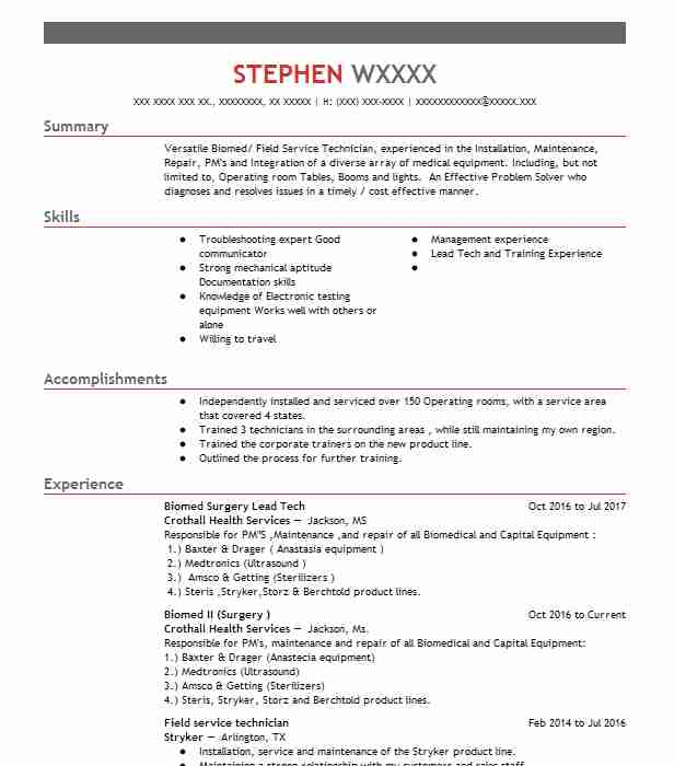 telecommunications technician resume example charter spectrum