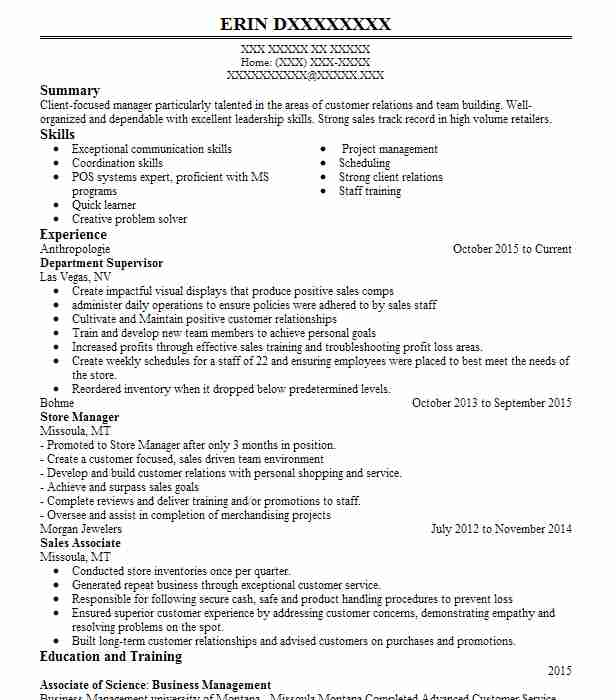 general manager resume example  mario tricoci salon u0026 39 s