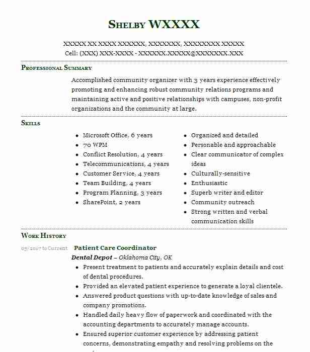 44 Event Planning And Coordination Resume Examples in Oklahoma ...