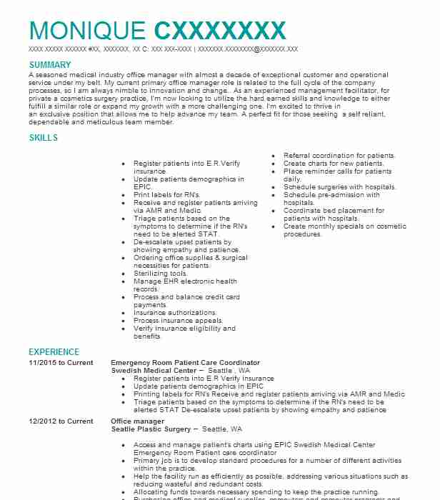 activity director resume example towers nursing home