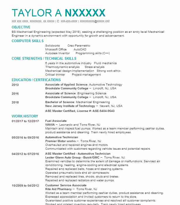 Master Electrician Resume Sample  Electrician Resumes  Livecareer