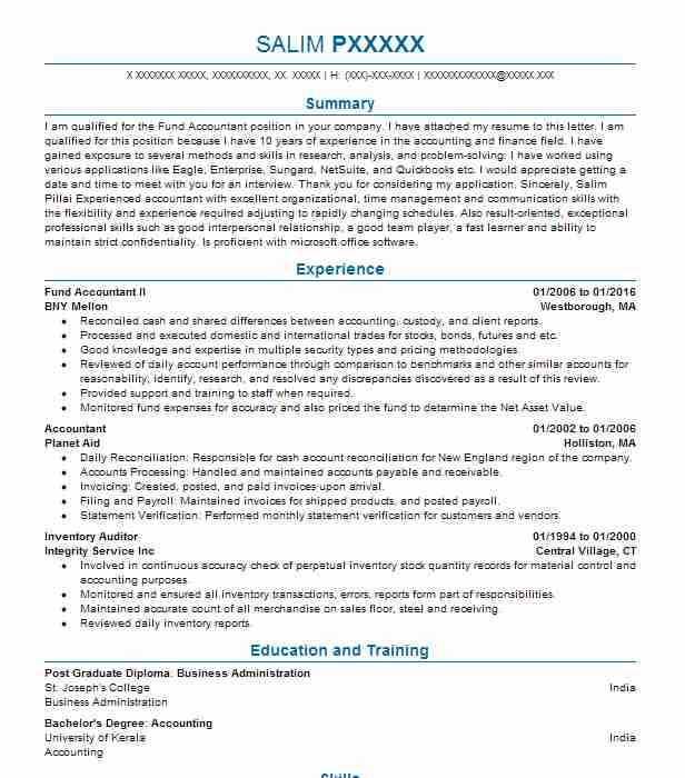 Best Auditor Resume Example | LiveCareer