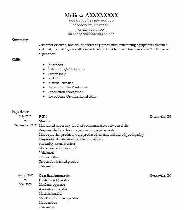 Find Resume Examples In Princeton, IN