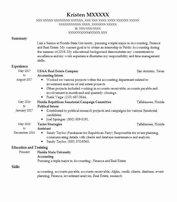 Create My Resume  Political Resume