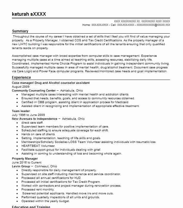 Create My Resume  Substance Abuse Counselor Resume