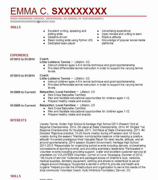 73 Brand Management Resume Examples in Colorado | LiveCareer