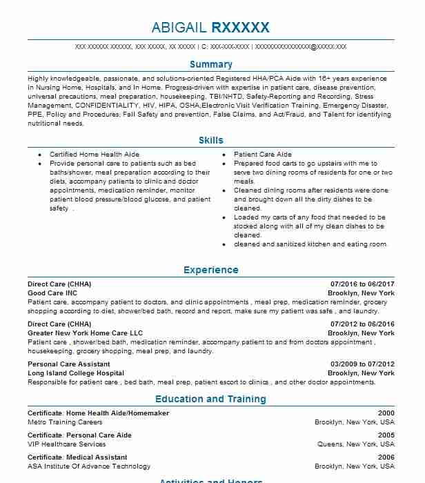 43 Diet And Nutrition (Fitness And Recreation) Resume Examples in ...