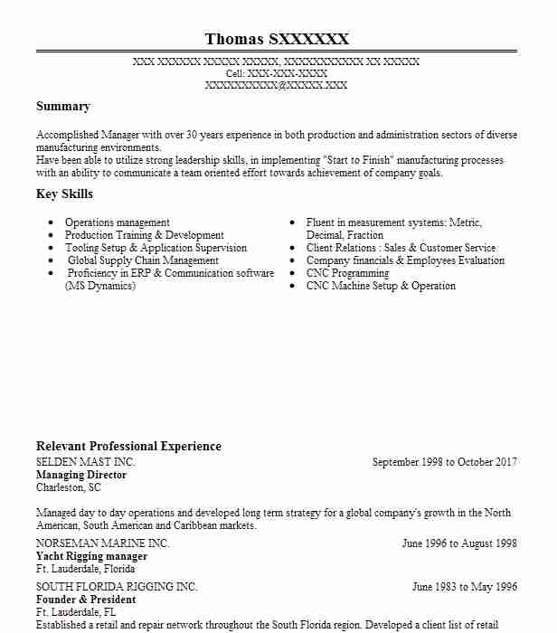 Create My Resume  Manager Resume Objective