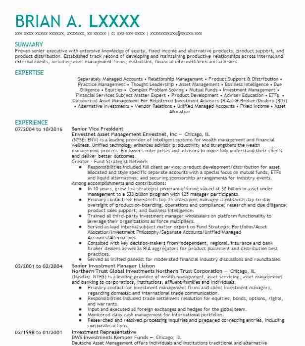client portfolio manager resume example aristotle capital