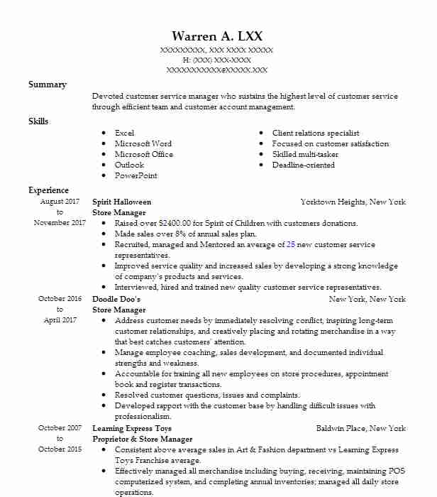 Create My Resume  Sample Chef Resume