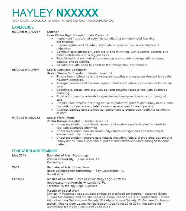 Eye-Grabbing Teacher Resumes Samples