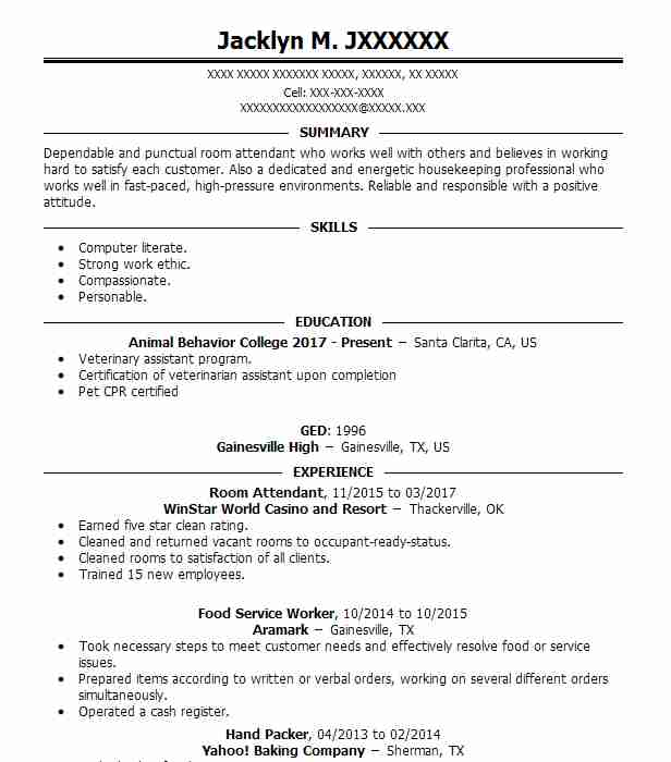 24901 veterinary resume examples samples livecareer