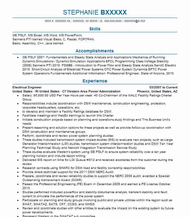 electrical engineer resume objectives resume sample
