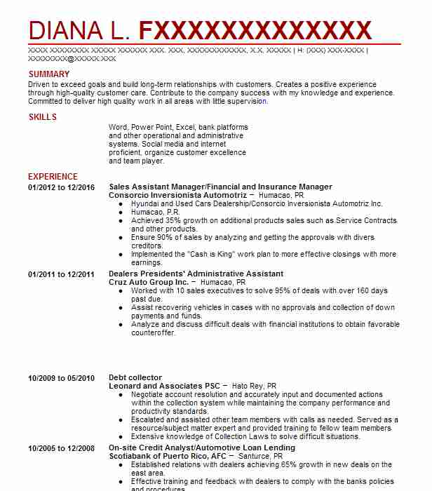 Exceptional Similar Resumes Inside Debt Collector Resume