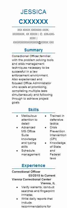 Youth Care Worker Resume Example CHS