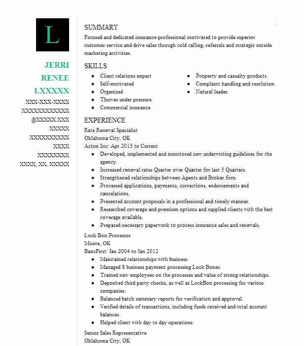 licensed sales producer resume example allstate insurance