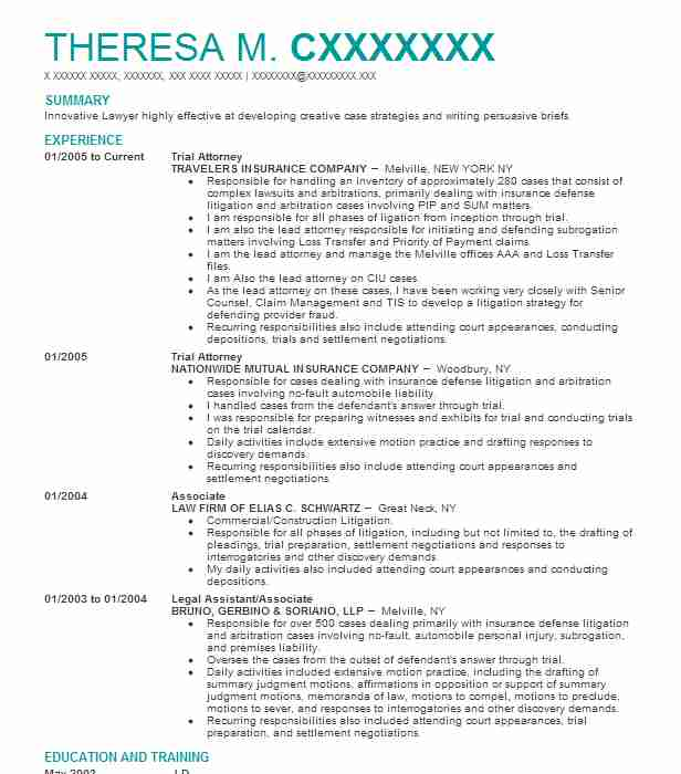 complex commercial litigation associate resume example dechert