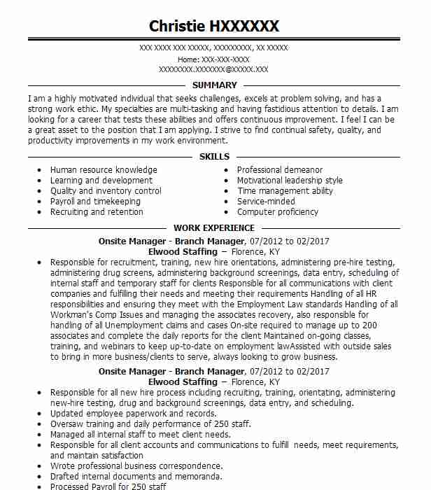 find resume examples in princeton  in