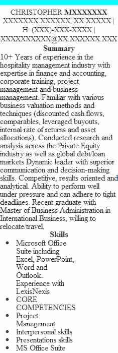 operational risk manager resume example grant thornton llp