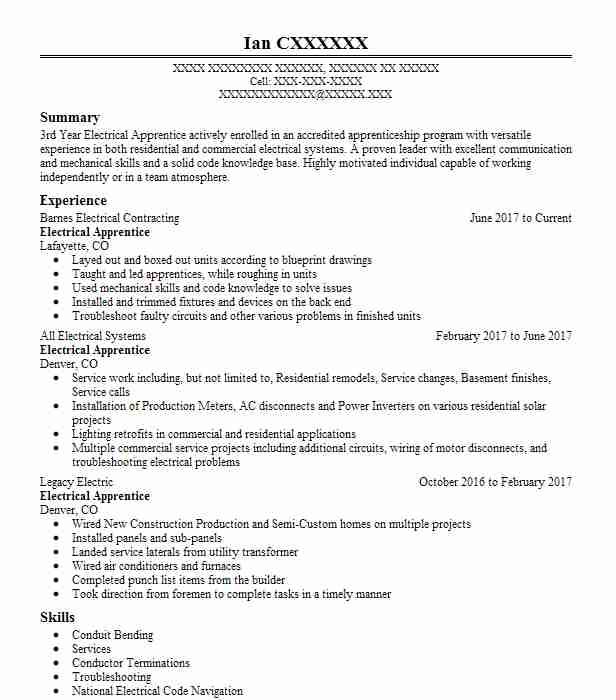 top construction resume - Construction Trades Resume Samples