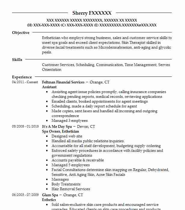Assistant  Phlebotomist Resume Sample