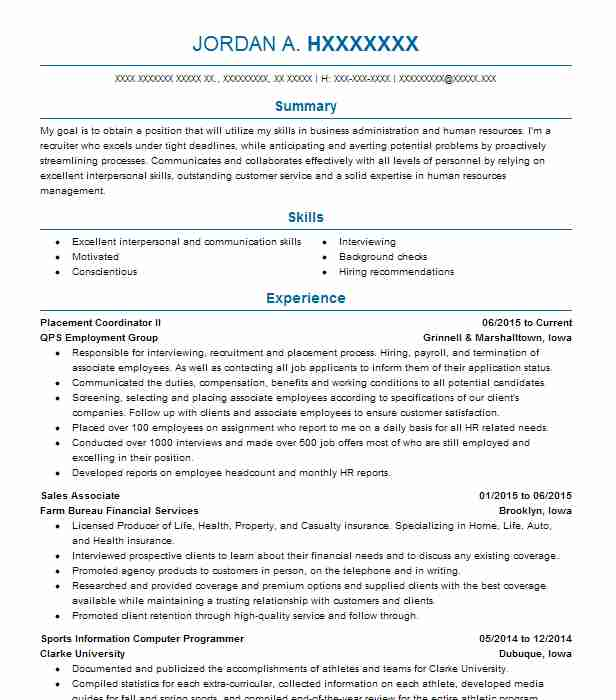 object oriented programmer resume sample livecareer