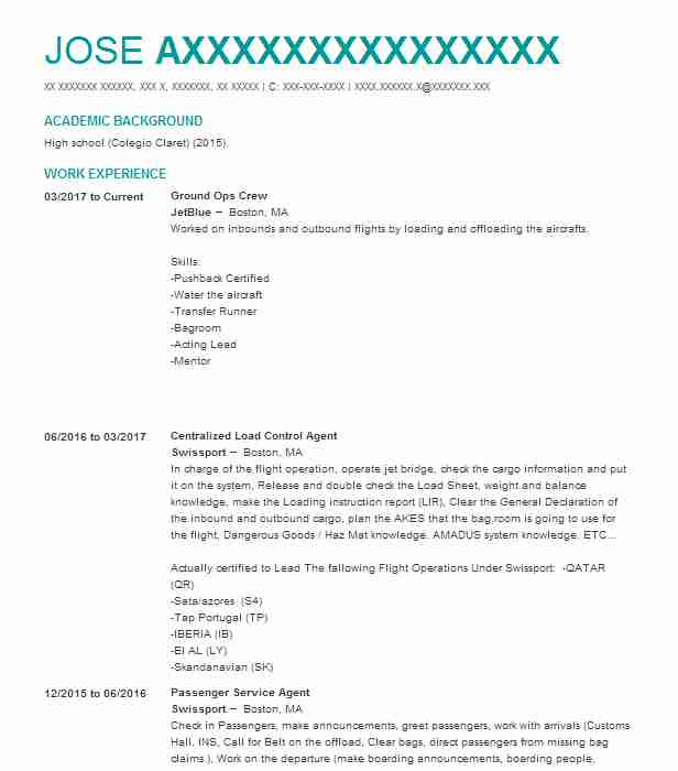 Dispatch Manager Resume Example (Premier Transportation) - Irving, Texas