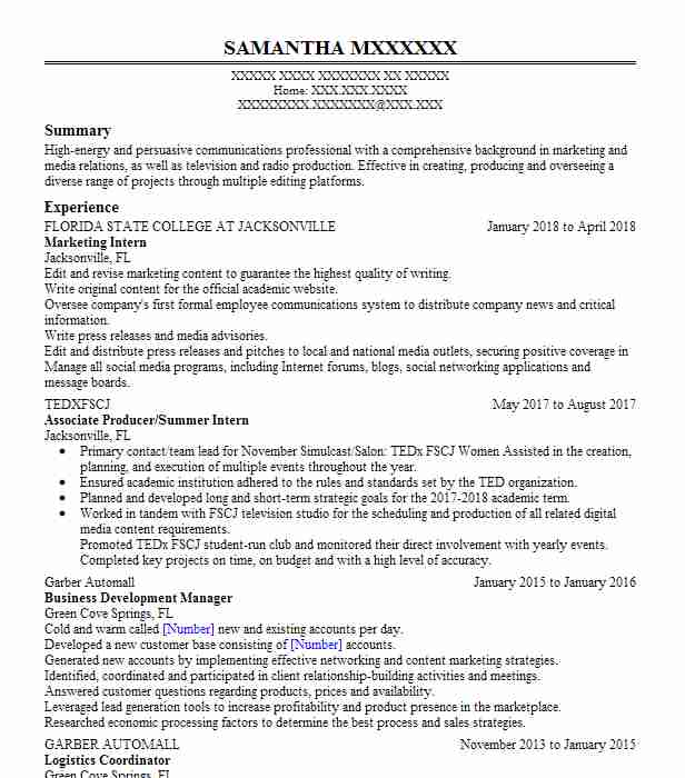 Featured Resumes Browse All Resumes