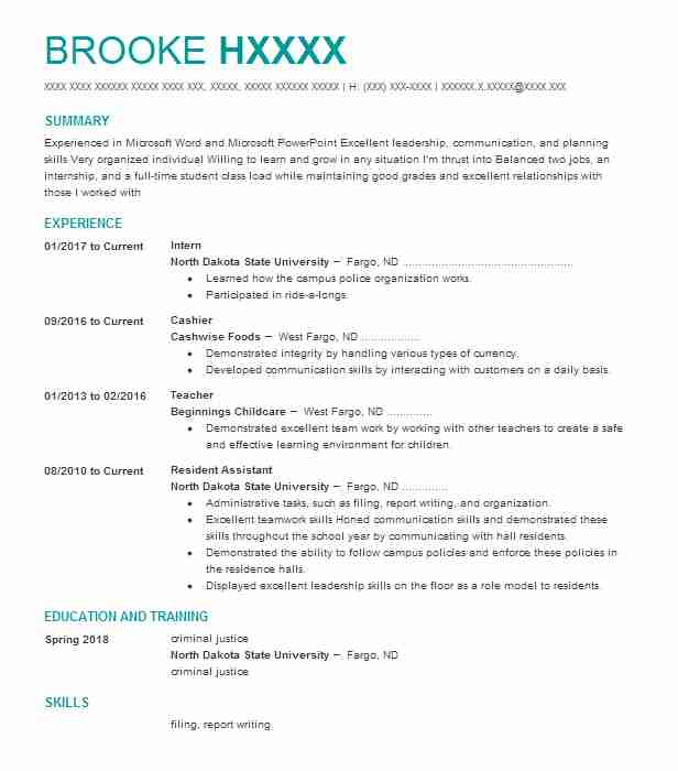11824 Correctional Officers Resume Examples | Law Enforcement And ...