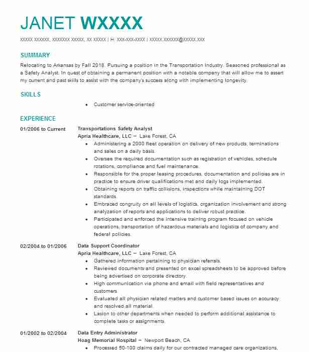 Create My Resume  Biology Major Resume