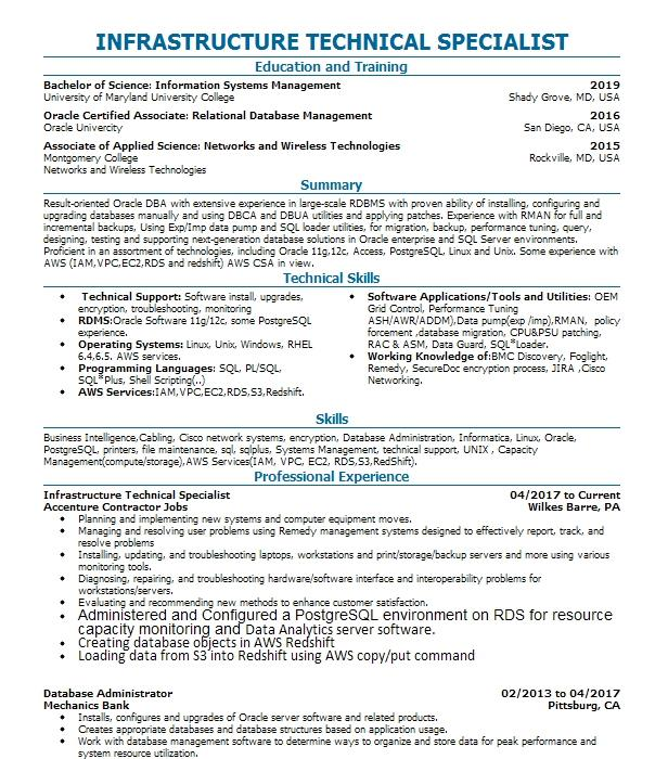 automotive warranty administrator resume sample