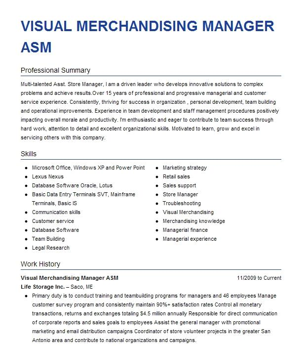 assistant store manager   asm   resume example walgreens