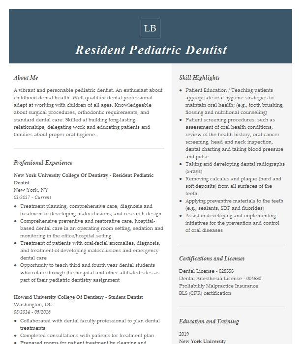 Pediatric Dental Hygienist Resume Example Pediatric Dentistry Vinings Marietta Georgia