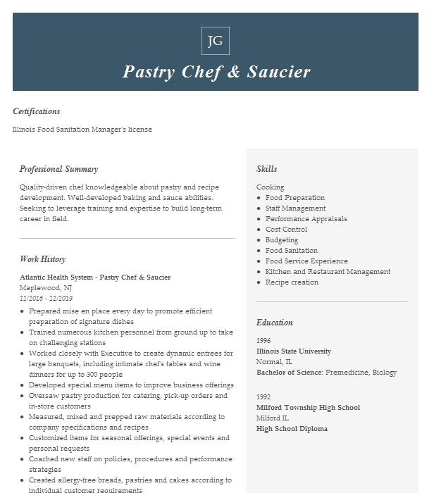 Saucier chef resume cover letter for pharmaceutical sales rep