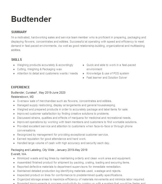 packaging and labeling resume example npic  richardson texas