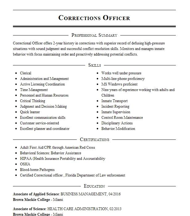behavioral assistant resume sample