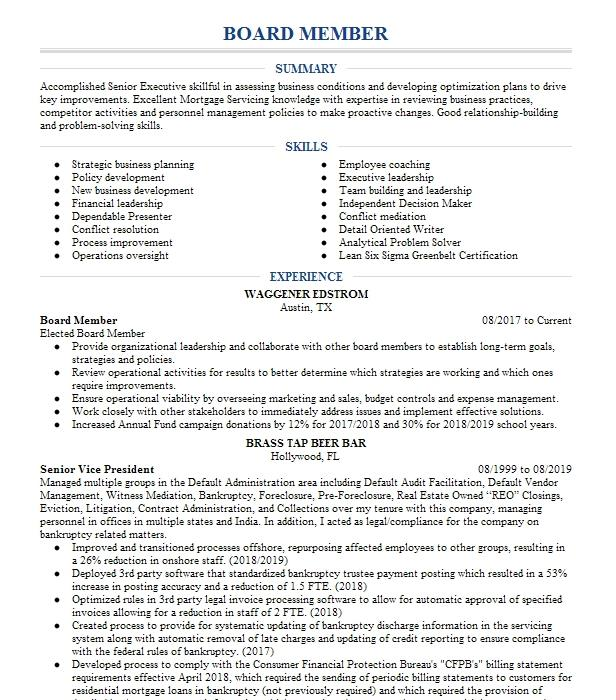 board member resume example blount county children u0026 39 s home