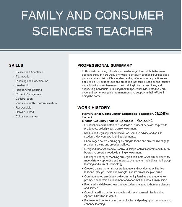 Pay for family and consumer science cv top business plan writer site au
