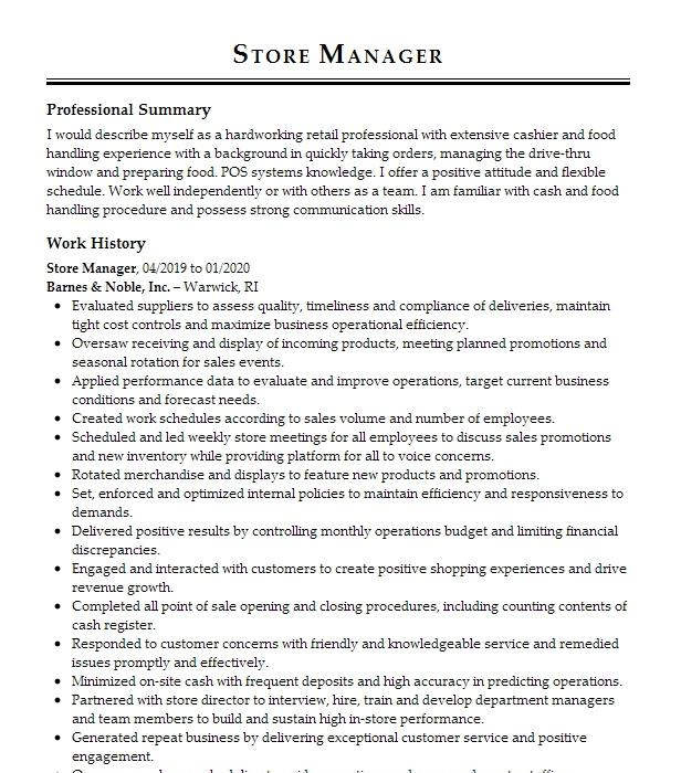 Cleaner For Residential House's Resume Example Self ...